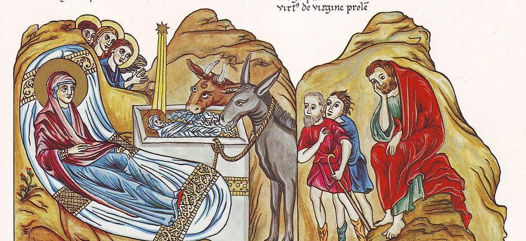 Hortus_Deliciarum,_Die_Geburt_Christi